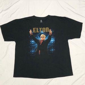 Elton John 2012 Rocket Man NA/Europe Tour T-Shirt